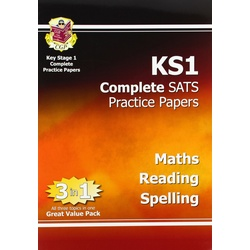 Key Stage 1 Complete SATS Practice