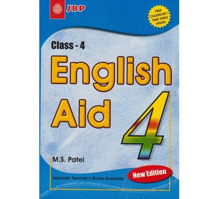 English Aid Std. 4-New edition