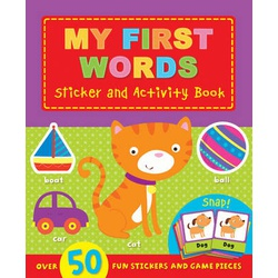 My First Words Sticker and Activity Book (Igloo)