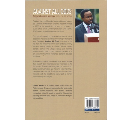 Against all Odds HB (kalonzo Musyoka)