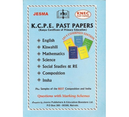 Jesma KCPE Past Papers | Books, Stationery, Computers, Laptops and more   Buy online and get free delivery on orders above Ksh  2,000  Much more than  a