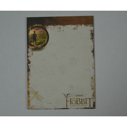 HLTZ Note bloc A6 Hobbit middle earth 11307030