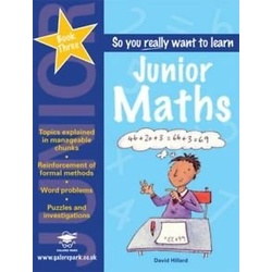 So you really want to Learn Junior Maths book 3