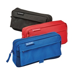 Herlitz Pencil pouch 2add. bags Asstorted 10312734