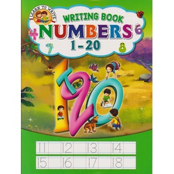 Alka Learn To Write Numbers 1-20