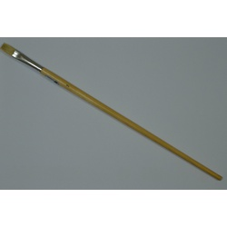 Oil Paint brush Long handle flat 579/842-7