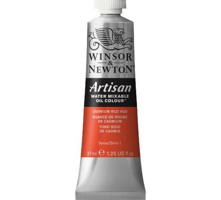 Artisan water mixable oil colour 37ml 1514095 Cadmium Red Hue