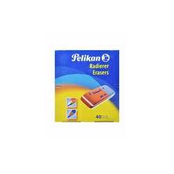 Pelikan AP40 Mini Erasers Orange 3s
