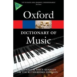 Oxford Dictionary of Music 6ED