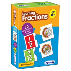 Frank Puzzle Learning Fractions 20 Self-Correcting 10131