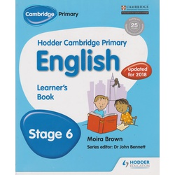 Hodder Cambridge Primary English Learner's 6