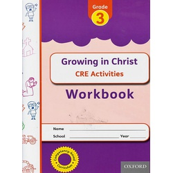 OUP Growing in Christ CRE Grade 3 Workbook