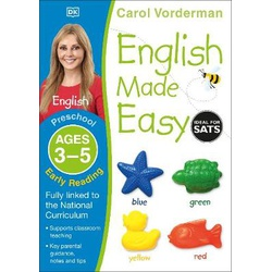 DK- English Made Easy Age 3-5 Early Reading Preschool