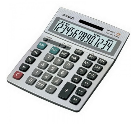 DM-1400S/TV-W Casio Calculator