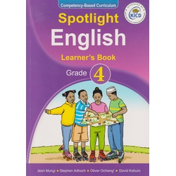 Spotlight English Learner's Book Grade 4 (Approved)