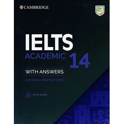 Cambridge IELTS Academic 14 with Answers (Audio)