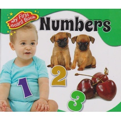 Alka My First Board book Numbers
