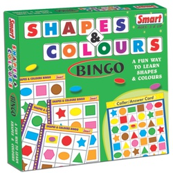 SHAPES AND COLORS BINGO (USA-ENG) 95030099