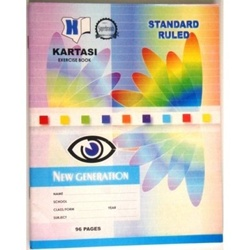 Exercise books 96 pages Kartasi Plain Manila Cover