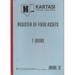 Register of Fixed Assets 1 Quire