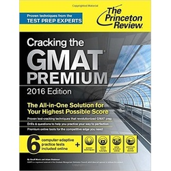 Cracking the GMAT Premium 2016 Edition