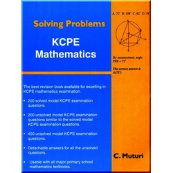Solving Problems KCPE Maths
