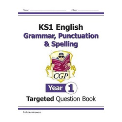 Key Stage 1 English Targeted Question Book: Grammar, Punctuation & Spelling - Year 1