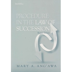 Procedure in The Law of Succession