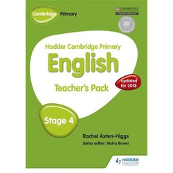 Hodder Cambridge Primary English: Teacher's Pack Stage 4