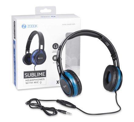 Zoook ZM-Sublime Premium Wired Headphone