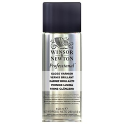 W&N Professional gloss varnish spray