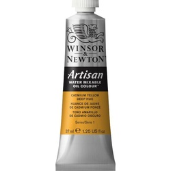 Artisan water mixable oil colour 37ml 1514115 cadmium yellow deep hue