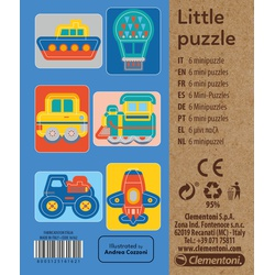 Clementoni LITTLE PUZZLE TRANSPORT 95030099