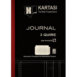 Journal Book A4 3 Quire