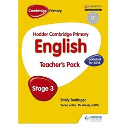 Hodder Cambridge Primary English: Teacher's Pack Stage 3