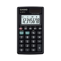 SL-797TV-BK-W Casio Calculator