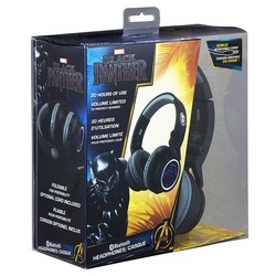 Kiddies BT Black Panther headphones MV-1007-BP