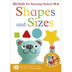 DK-Skills for Starting School: Shapes and Sizes Level 2