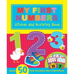 My First Numbers Sticker and Activity Book (Igloo)