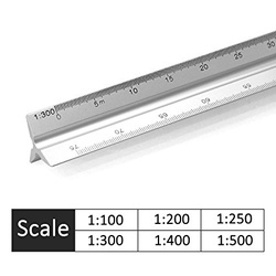 Scale Ruler 1:100,200 etc 5630