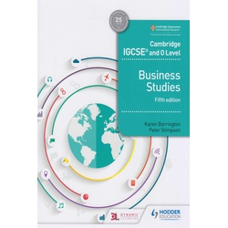 Cambridge IGCSE and O lvl Business 5ED (Hodder)