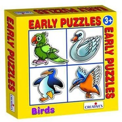 Early Puzzles-Birds - Age 3 + Creative 757