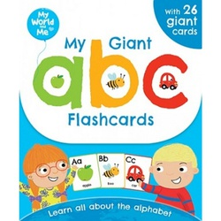 My World and Me: My Giant ABC Flashcards