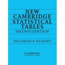 New Cambridge Statistical Tables 2ED