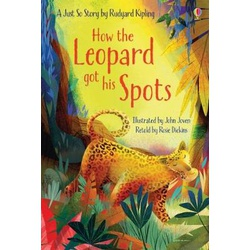 Usborne First Reading How The Leopard Got His Spot