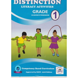 Distinction Literacy Activities GD1 (Approved)