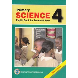 Primary Science Pupils' Book for standard 4