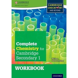 Complete Chemistry Cambridge for Secondary 1 Workbook