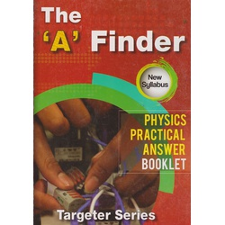 """A"" Finder Physics Practical Answer booklet"