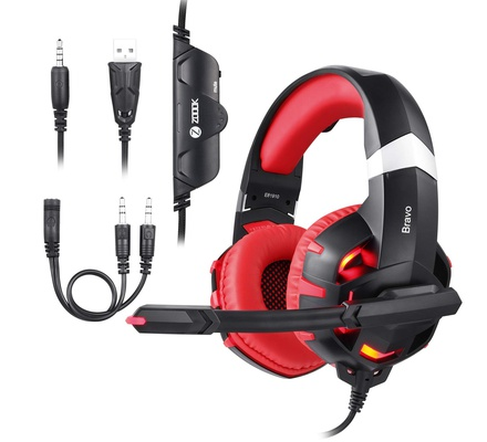 Zoook ZG-BRAVO Professional Gaming Headphones (Assorted Colours)